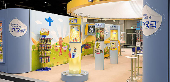 PEZ International - Messebau - ISM 2010