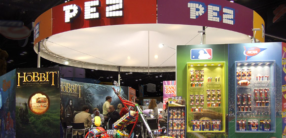 PEZ Candy - Messebau - Sweets & Snacks 2011