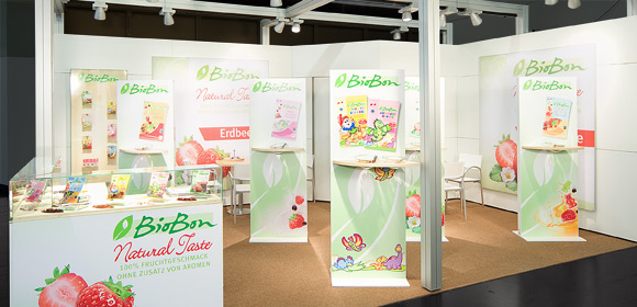 PEZ International - Messebau - Biofach 2011