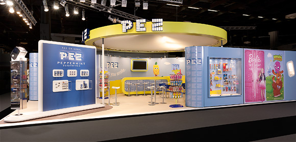 PEZ International - Messebau - ISM 2013
